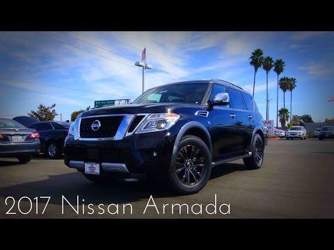 2017 Nissan Armada Platinum 5.6 L V8 Review