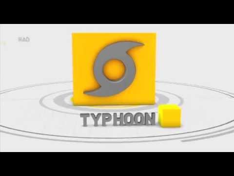 SAFE STEPS: Typhoon