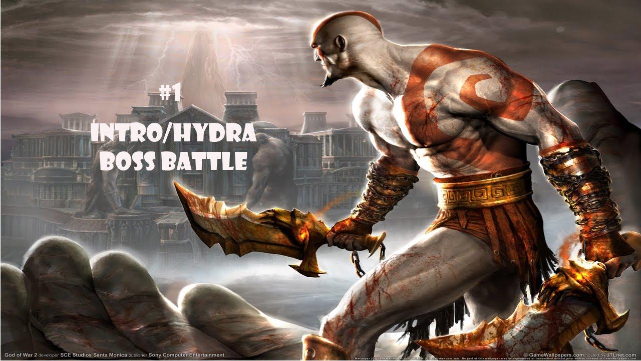 God of War 1 (Ps2) Part 1 PTBR - Intro/Hydra Boss Battle