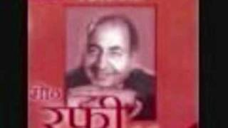 Film Ek Saal, Year 1957, Song Kis Ke Liye Ruka Hai, Version 2, by Rafi Sahab.flv
