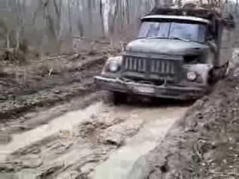 видео: ЗИЛ 131 russian trial 6x6