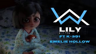 "Alan Walker, K-391 & Emelie Hollow - Lily (sad scary emotional animation HD ""Music video 2019 "")"