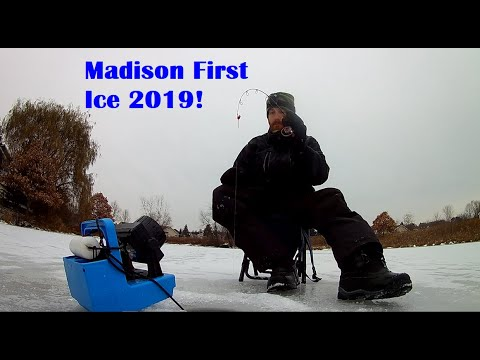 Madison Wi First Ice 2019 Part 1