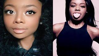 Azealia Banks Dragged By 14-Year-Old Skai Jackson!