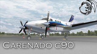 [Prepar3D v3] Керівництво по літакам c90. Урок 12 L70 - KSEZ
