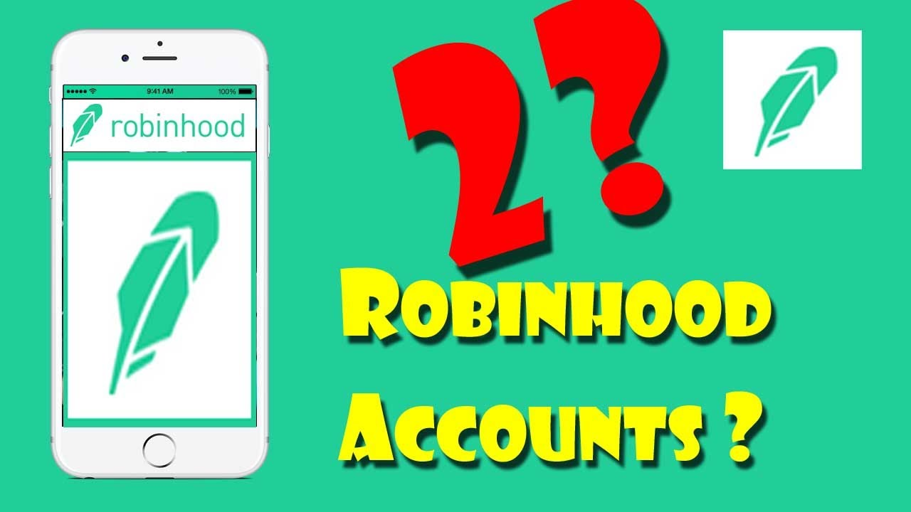 Open 2 ROBINHOOD Free Stock Trading Accounts?? | Investing - YouTube