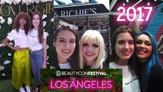 BeautyCon LA Look/Vlog/Haul + MEETING ZENDAYA!