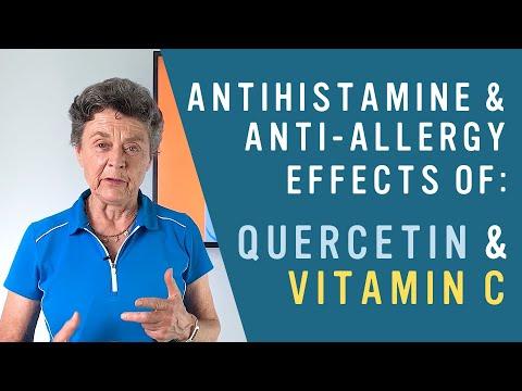 How Quercetin & Vitamin C Are GREAT Antihistamines!
