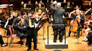 Brahms Violin Concerto Mov III, Ryan Luo and Pomona College Orchestra