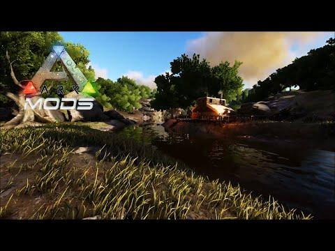 Ark Survival Evolved MODS #EP75 - Marcião Encontra Um Novo Lar!