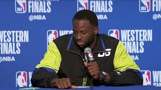 Draymond Green Postgame Interview - Game 2 | Trail Blazers vs Warriors | 2019 NBA Playoffs