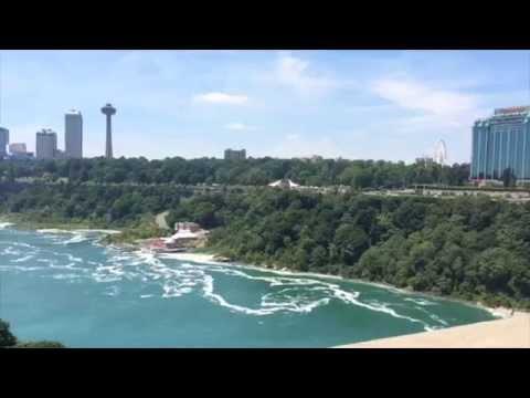 Chicago To Niagara Falls, Ontario On A Train