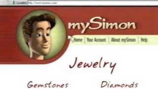 "2001 mySimon.com ""Zirconia"" commercial"