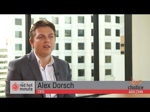 Interview with Alex Dorsch, MD Chalice Gold