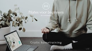 Pilates voor Beginners🧘🏼♀️ | Introductie | De Zenfanaat