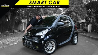 SMART FORTWO W451 TAHUN 2010 | SMART CAR AND FUNNY | REVIEW INDONESIA
