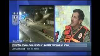 DECLARACIONES DEL GRAL JORGE CHAVEZ: CANAL N 15ENE18
