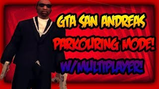 GTA San Andreas Bike Parkour Multiplayer Mod!-SA-MP PC GAMEPLAY!