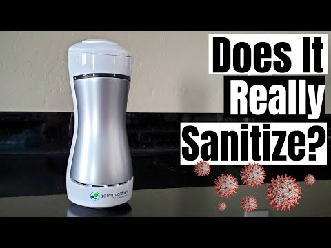 GERMGUARDIAN GG1000 UV AIR SANITIZER - DOES IT REALLY SANITIZE THE AIR?