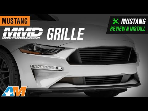 2018-2019 Mustang GT & EcoBoost MMD Grille Review & Install