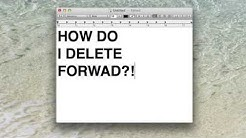 How Do I Forward Delete on a Mac? Quick Answer!