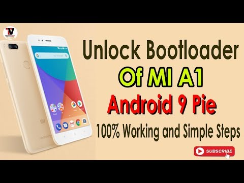 Unlock Bootloader Mi A1 Android 9 Pie 100% Working with No Wait Time