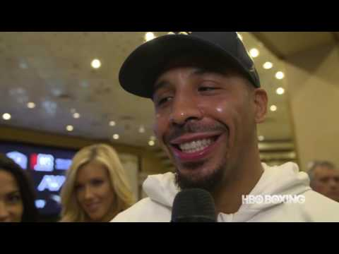 HBO Boxing News: Andre Ward Las Vegas Arrival (HBO Boxing)