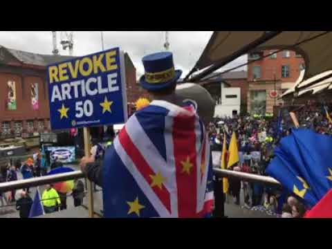 SODEM at Manchester March for Change (Oct 2019)
