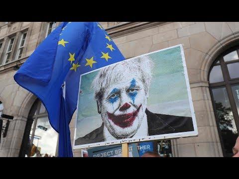 NERVENKRIEG: Johnson beantragt widerwillig Brexit-Verschiebung bei EU