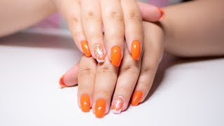 MOC POMARAŃCZY - KaroLove Nails | Blogodynka