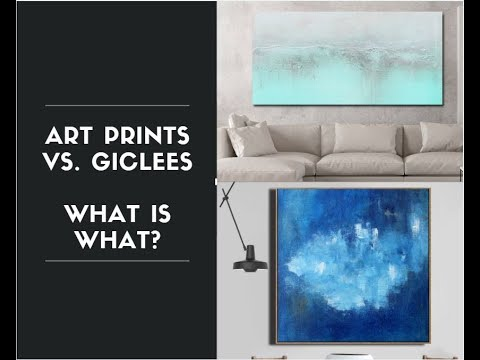 Fine Art Prints Vs. Giclee Print - What's What?