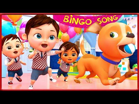 Bingo en français  - Comptines pour bébé en francais - Banana Cartoon LE Français [HD].