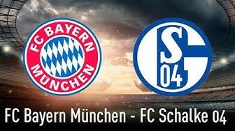🔴FC BAYERN MÜNCHEN 5 : 0 FC SCHALKE 04   TOPSPIEL   19. SPIELTAG   BUNDESLIGA