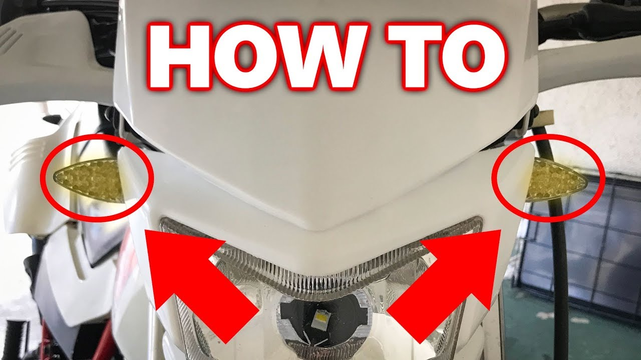 How to Install LED Turn Signals on a Dual Sport (TW200)