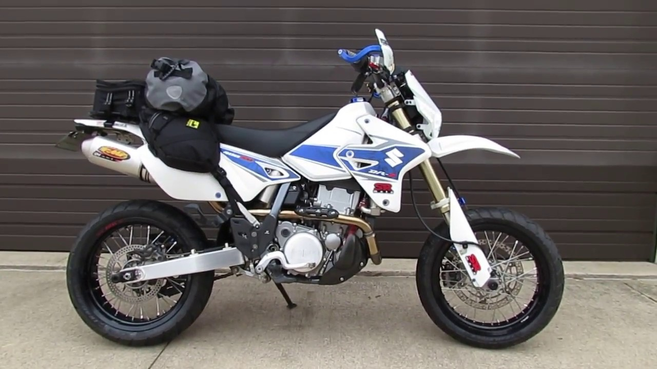 DRZ400S DRZ400SM FMF Q4 Performance Exhaust Package