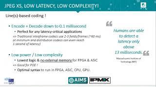 InfoCommConneced JPEG XS IPMX
