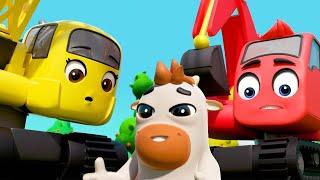 Old MacDonald Had A Farm! | Digley & Dazey | Kids Cartoons | Children's Stories