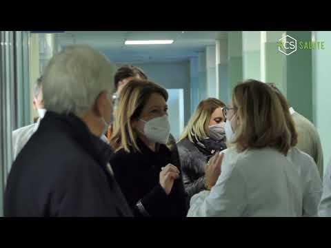 Con il DG dell'A.O.U. Federico II al via le vaccinazioni Covid