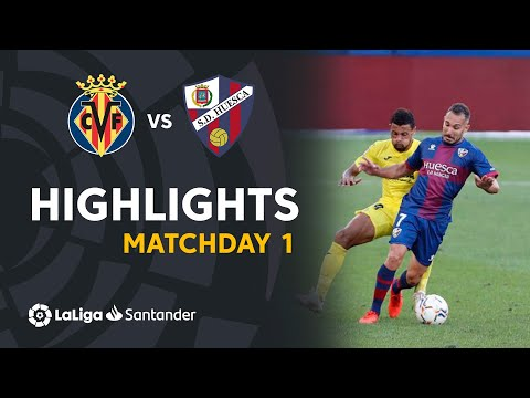Villarreal Huesca Goals And Highlights