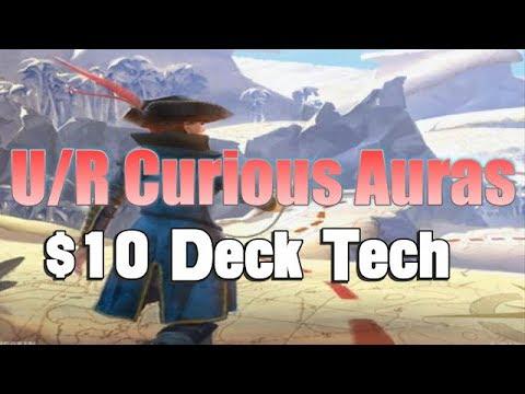 Mtg Budget Deck Tech: $10 U/R Curious Auras in Rivals of Ixalan Standard!