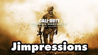 Call of Duty: Modern Warfare 2 Remastered - Secure The Burger Town (Jimpressions) (Video Game Video Review)