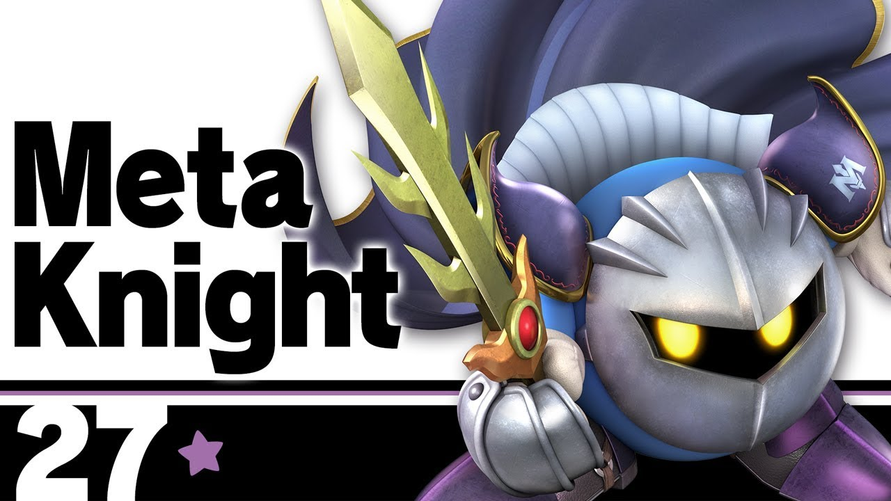 The Ultimate Super Smash Bros  Character Guide: Meta Knight - Geek com