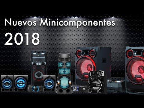 Nuevos Minicomponentes para el 2018