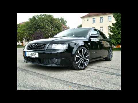 audi a4 8e s line umbau youtube. Black Bedroom Furniture Sets. Home Design Ideas