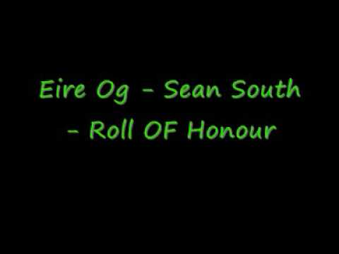 Eire Og - Sean South - Roll OF Honour