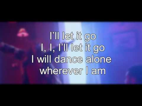 Jana Burčeska - Dance Alone (Lyrics Video)