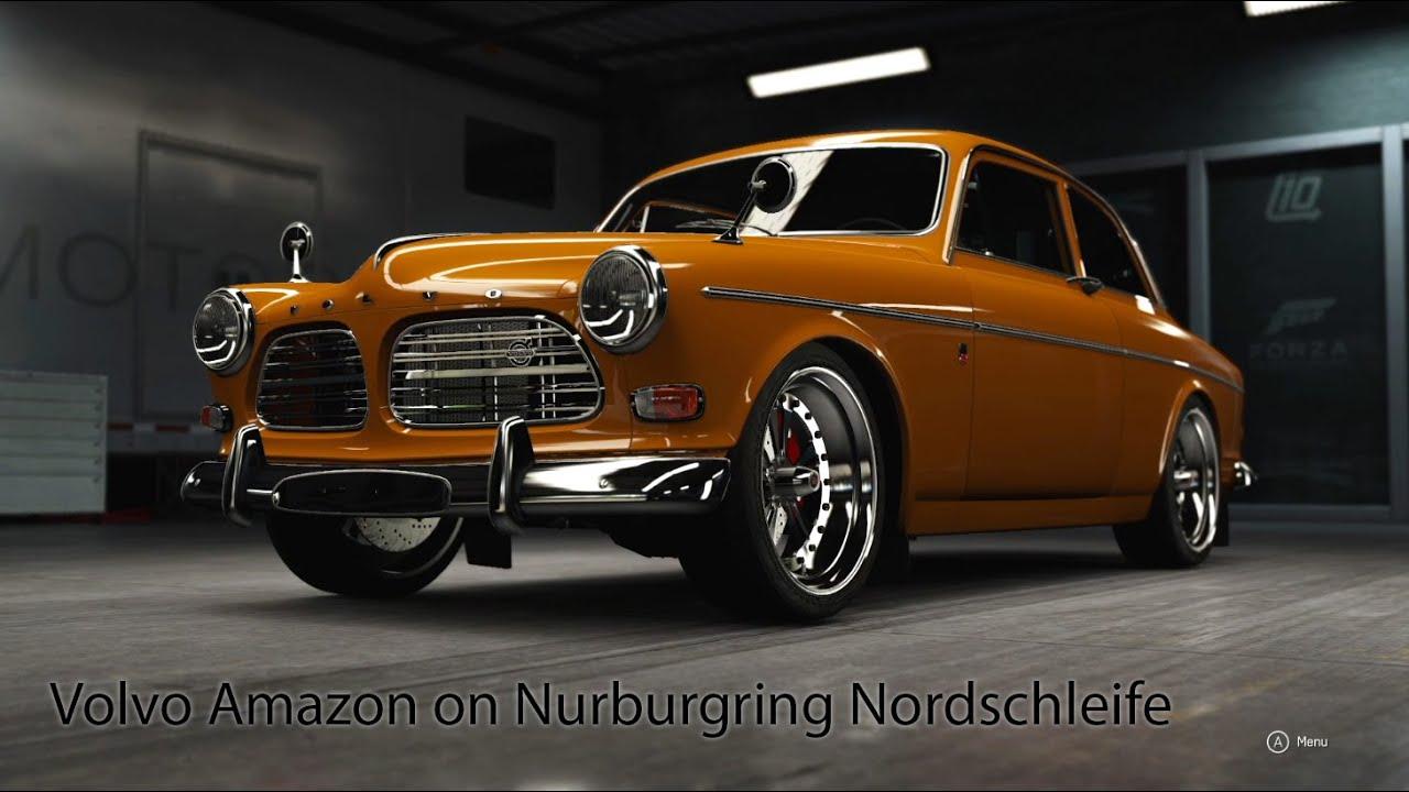 Forza Motorsport 6: Volvo Amazon on Nurburgring Nordschleife (Zzz vid) - YouTube
