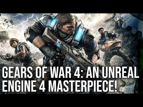Gears of War 4 runs beautifully on Xbox One, even better on