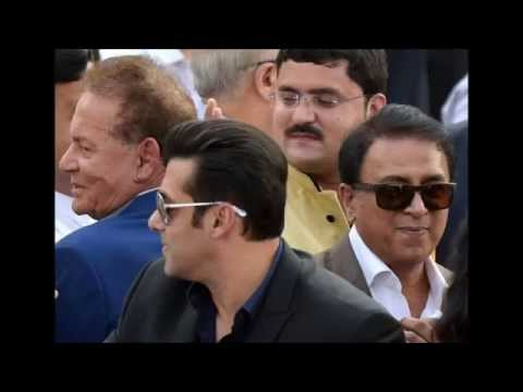Salman Khan at Narendra Modi's Swearing-in Ceremony