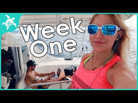Week One of owning and living on a boat!